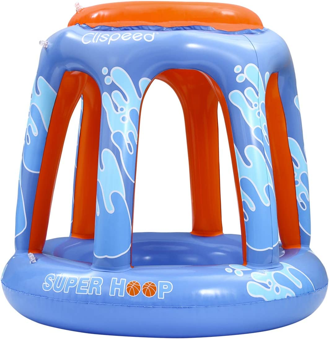 CLISPEED Inflatable Basketball Hoop PVC Party Summer Baske Phoenix Mall Beach Shipping included