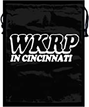 Aiutu7atyzf8 WKRP Cincinnati - 70's Retro Tv Comedy ShowStylish Zip Pocket for Mens and Womens White One Size