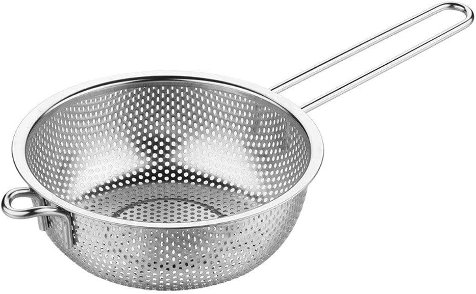 Strainer Seattle Mall Skimmer Ladle Kitchen Stainles Screen Large discharge sale Handheld