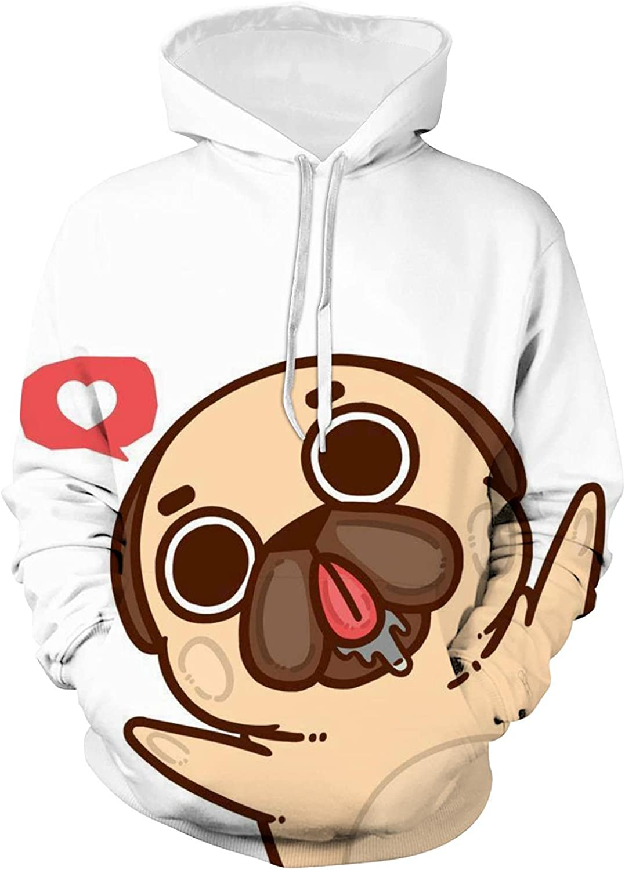 AEKDITU Ranking TOP17 Youth Anime Athletic Hoodies Purchase Boys Pug Girls 3D Hea Print