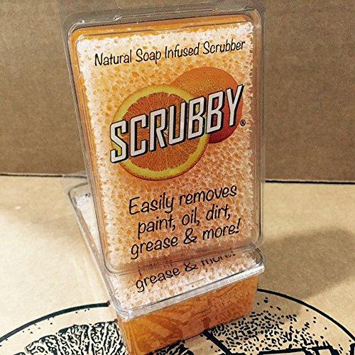 Scrubby Soap Citrus Cleaner (Orange) 2 Bar Pack
