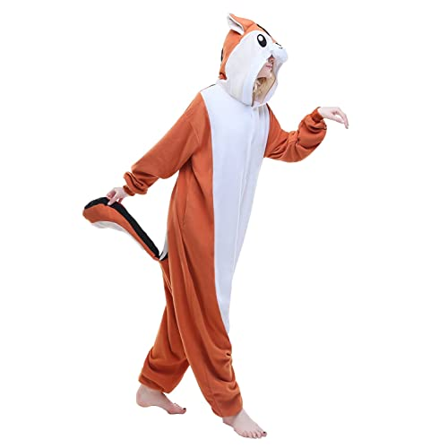 0576208f87 AMPARO Unisex Adult Cosplay Costume Pajamas Animal Anime Jumpsuit Outfit  Makeup Partywear