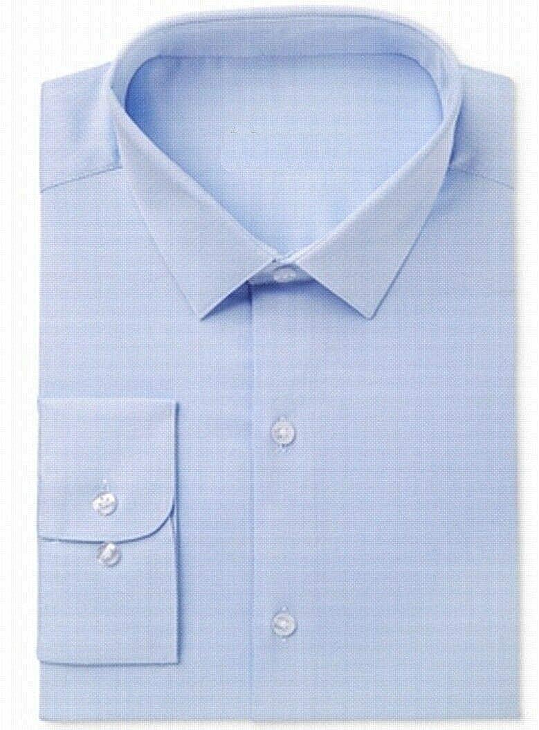 Bar III Mens Dress Shirt Houndstooth Slim Fit Button Down White 17