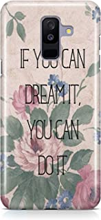 Covery Cases Dream It Do It Printed Back Cover For Samsung Galaxy A6 Plus 2018 - Multi Color