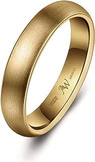 Best brushed gold wedding band mens Reviews