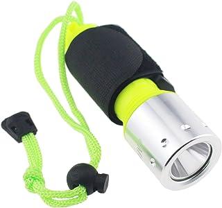 مصباح غوص تيبمنت كري Xm-L T6 1600 لومن LED تحت الماء سكوبا مصباح ماء كشاف غواصة 1 × 18650 بطارية (غير مدرجة)