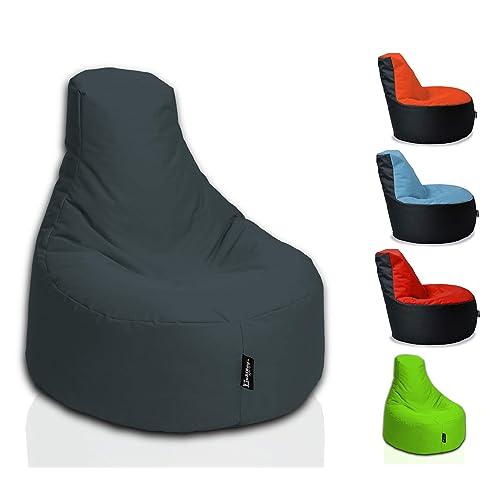 4155809aa7b017 BuBiBag Gamer Kissen Lounge Sitzsack Sessel original Sitzkissen In   Outdoor  geeignet fertig befüllt in 32