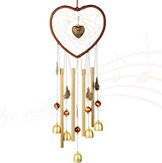 """Wind chime for Outdoor(24"""") Windchimes Dream catcher Hanging Indoor Creative Wind Chimes Ornament Decor Chrome Hearts For ..."""