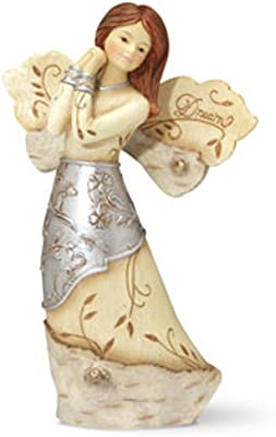 Pavilion Gift Company Elements 5-1/2-Inch Angel, Dream