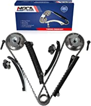 MOCA Engine Timing Chain Kit with Cam Phaser Fits 2004-2013 Ford F-150 Expedition F-250 Super Duty & 2005-2012 Lincoln Navigator 5.4L V8 SOHC