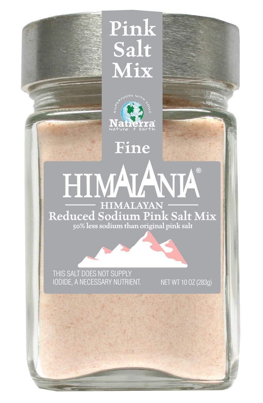 NATIERRA Himalania Reduced Sodium Himalayan Fine Columbus Mall Salt G store Pink Mix