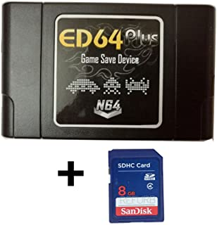 Lanzhd ED64plus Game Save Device Everdrive 64 Converter Enhanced NTSC ( Japan / U.S ) Version