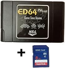 Lanzhd ED64plus Game Save Device Everdrive 64 Converter Enhanced NTSC ( Japan / U.S ) Version