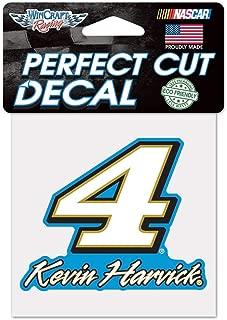 Win-craft Kevin Harvick Busch #4 NASCAR Window Car Decal 4