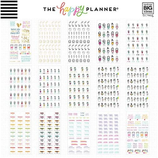 ME & MY BIG IDEAS Happy Planner STCKRS, Nurse, 1078/Pkg  