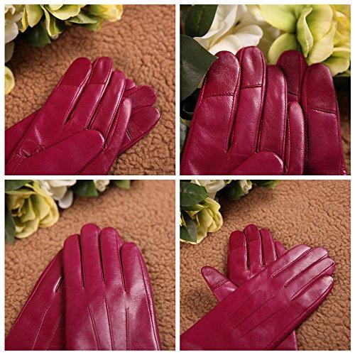 Elma Damen Touchscreen Leder - 5
