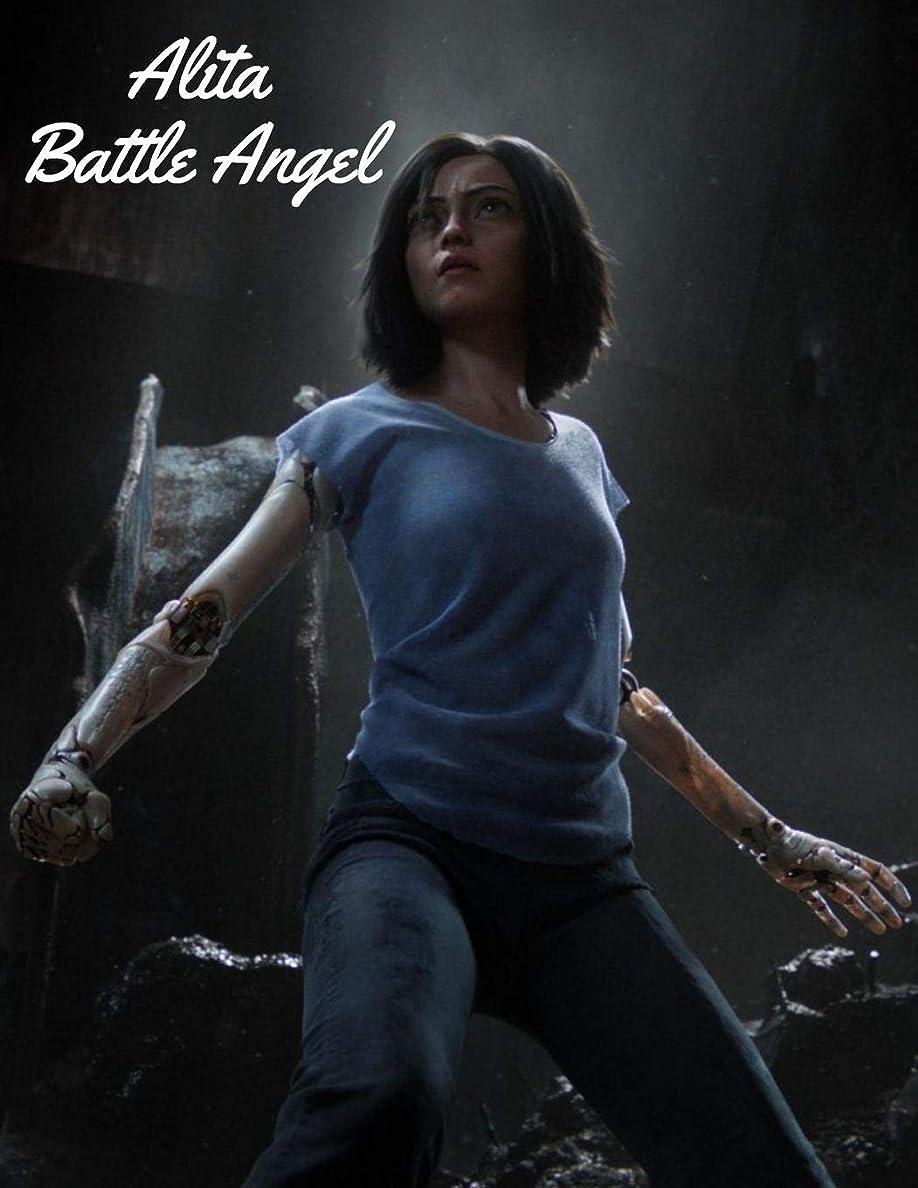 唯一ランチョン目指すAlita Battle Angel: Blank Lined Superhero Gift Journal-Diary for Marvel Comics & Adventure Fans