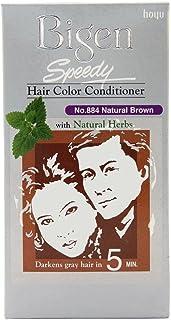 Bigen Speedy Hair Color, 884, 380 Gm (Natural Brown)
