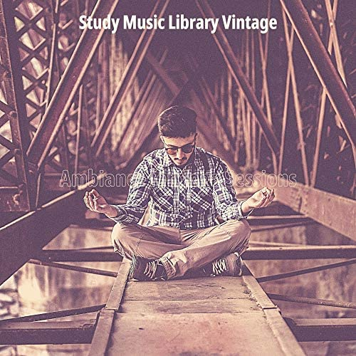 Study Music Library Vintage