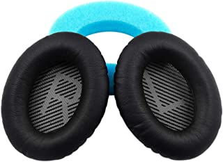 Bose QC25 quiet and comfortable 25 earphone ear pad replacement pad, QC15, QC35, AE2, AE2I ear pad(Black)
