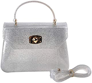 kilofly Girl's Jelly Candy Satchel Shoulder Bag Handbags