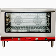 Avantco CO46 Full Size Electric Countertop Convection Oven with Steam Injection - 208-240V
