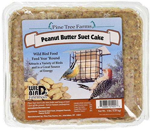 Sapin 1421 Peanut Butter Wild Bird de suif gâteau, 1,4 kilogram