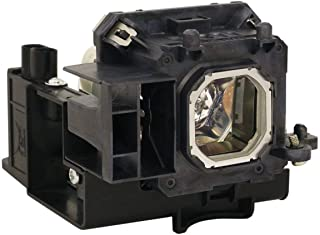 GOLDENRIVER NP15LP Projector Lamp with Housing and OEM Bare Bulb Inside Compatible with NEC M230X / M260W / M260X / M260XS / M300X / M230XG Projectors