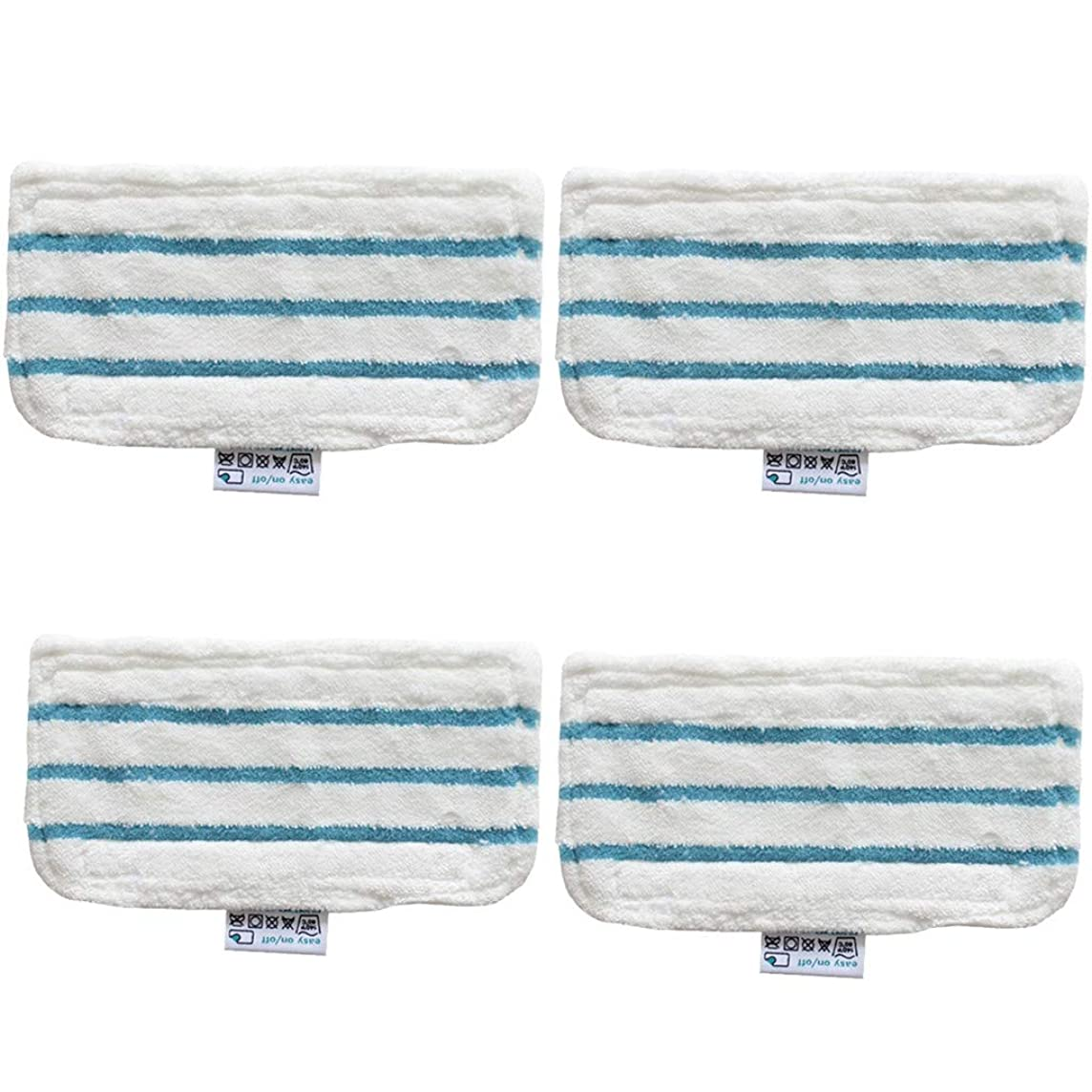 Aobiny Mop Cloth,4 Washable Replacement Cleaner Steam Mop Pads for Black and Decker FSM1610