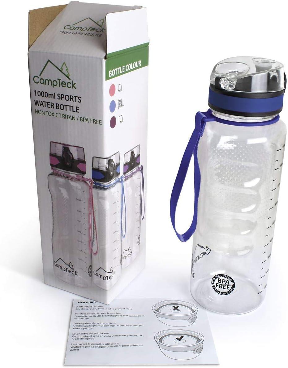 1000ml Sport Camping Wasserflasche Isolierte Tasche Beutelhalter Ärmelträger