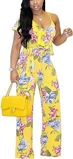 Best yellow floral jumpsuit Reviews