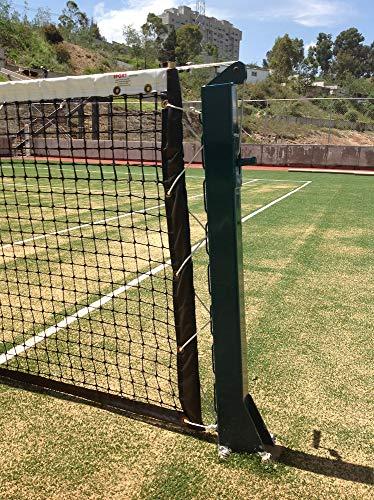 Sport Services Par de Postes Cuadrados para Tenis