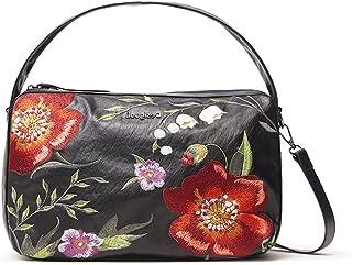Desigual Womens BOLS_Niagara NARBONNE Hand Bag, Black, One Size