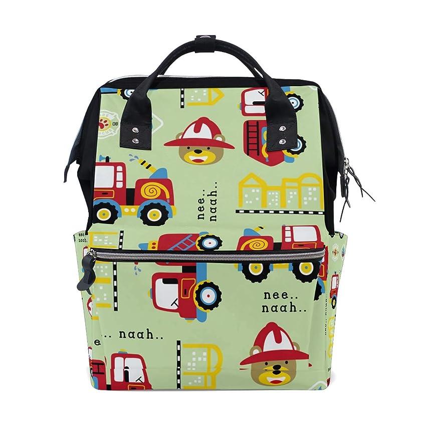 Carrtoon Bear School Backpack Large Capacity Mummy Bags Laptop Handbag Casual Travel Rucksack Satchel For Women Men Adult Teen Children