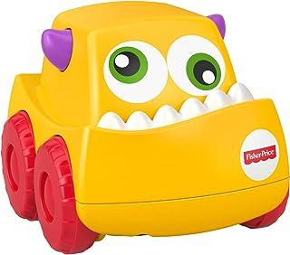 Fisher-Price Fyl43 Infant - Mini Monster Trucks, Yellow