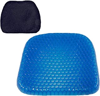 ZLY Durable Gel Cushion Home Living Room Bedroom Sofa Chair Cushion Massage Elastic Cushion Environmental Protection Sweaty Bottom, Durable, Portable
