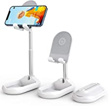 Licheers Cell Phone Stand, Angle Height Adjustable Phone Stand Holder for Desk, Fully Foldable...