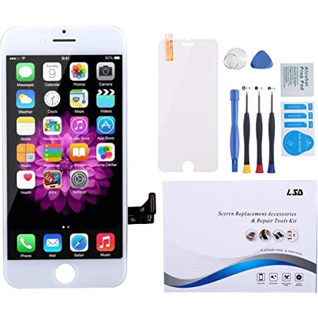 iPhone 7 Plus Screen Replacement White LCD Touch Display Screen Digitizer Assembly Screen Replacement for iPhone 7 Plus with Free Tools