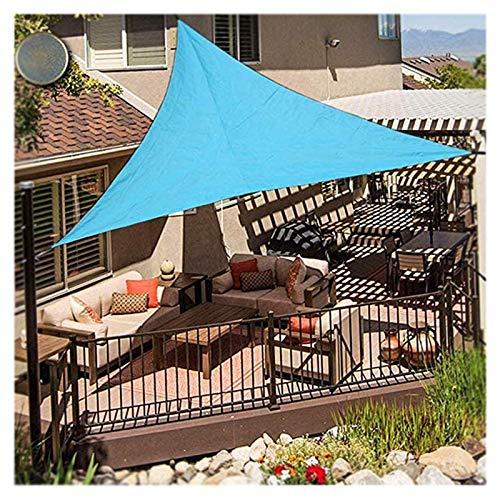 Toldo triangular, toldo triangular, toldo triangular, 98 % anti rayos UV, cobertizo para coche de pérgola para patio, jardín, invernadero, terraza y camping, 3 x 5 m