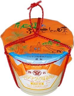 マルヤス味噌 無添加 麦味噌 (白) つぶ (粒) タイプ タル詰 2kg