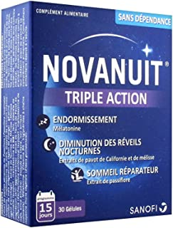 Novanuit Triple Action 30 Gelules