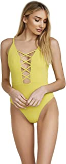 Dippin' Daisy's Fabulous Caged Front Moderate Coverage One Piece Swimwear Monokini Swimsuits