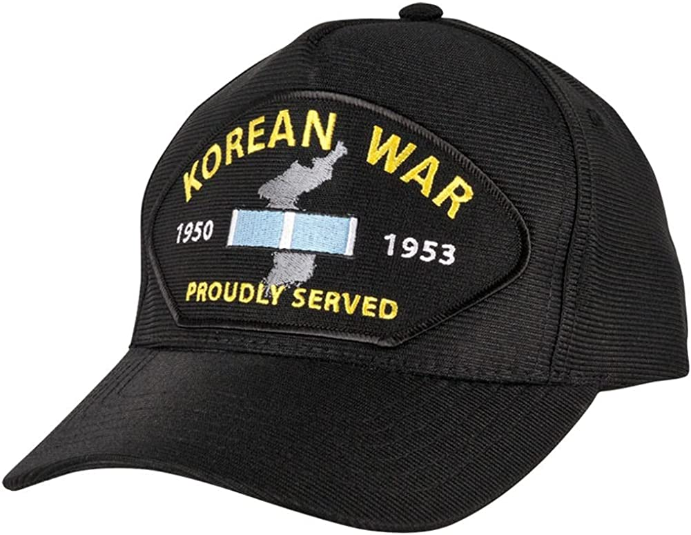Korean Max 72% OFF War Proudly Max 88% OFF Served Hat Made USA Black