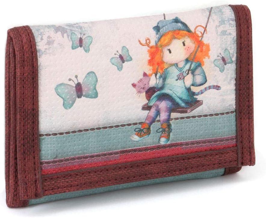 Forever Ninette Forever Ninette Swing-Wallet Coin Pouch, 12 cm,Multicolour