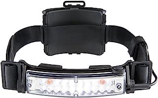 FoxFury 420-T15 Command+ Tilt Fire and Impact Resistant Waterproof White/Amber LED Headlamp/Helmet Light, 100 Lumens