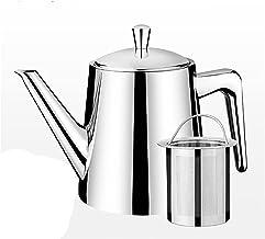 Theepot (750ml) 304 roestvrij stalen theepot set, koffiepot met Infuser filter, voor restaurants, conferentieruimtes, woon...
