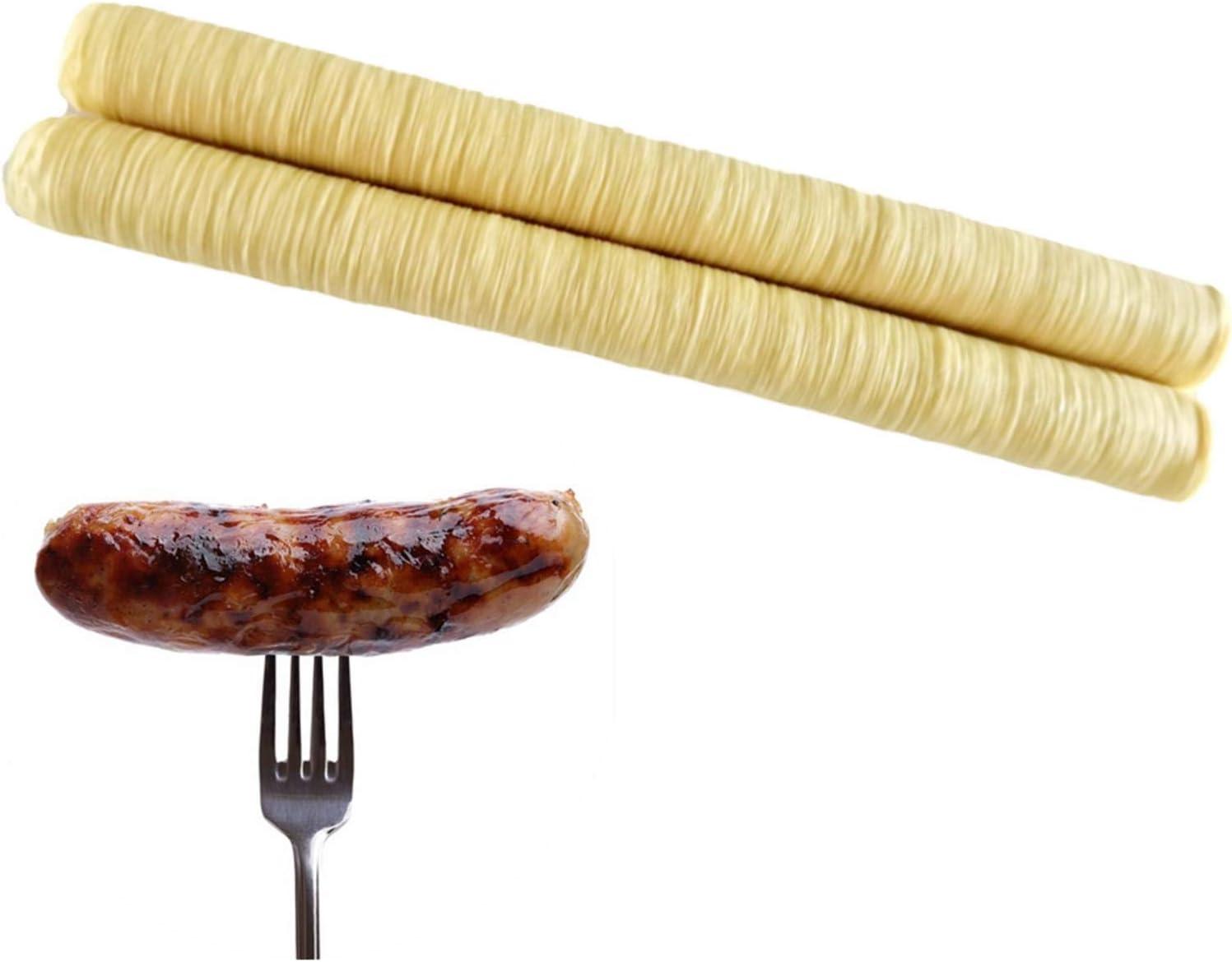 Discount is also underway Yiida Sausage Casings Edible 14m Very popular N 26mm Vegan X Casing