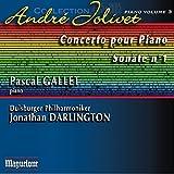 Jolivet: Integrale pour piano, Vol. 3