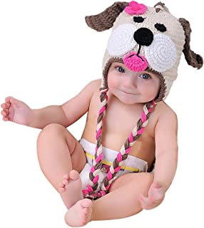 EFANBABY Crochet Baby Hat Infant Toddler Baby Girl Beanie for Baby Gifts