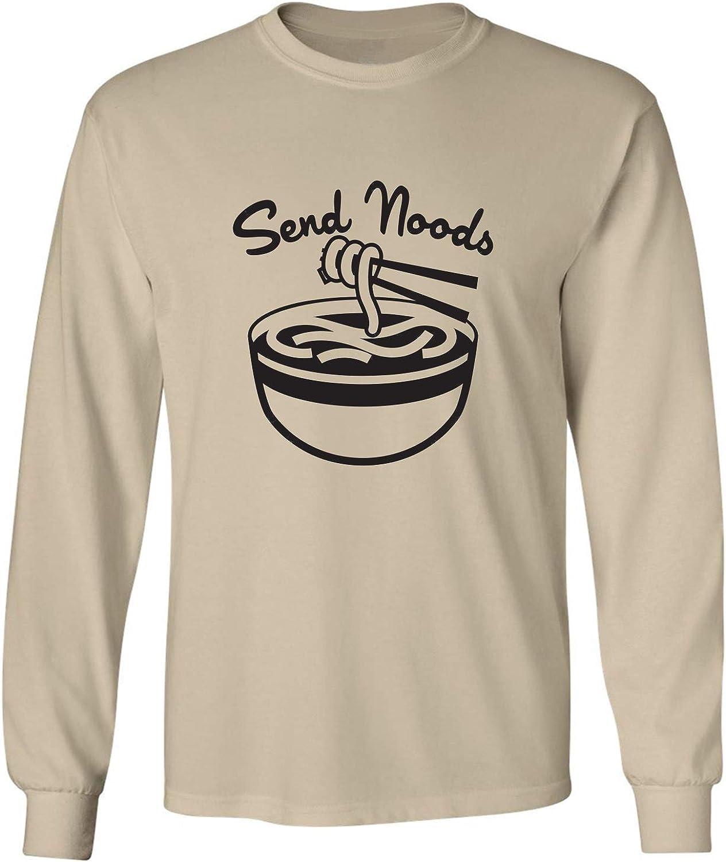 zerogravitee Send Noods Adult Long Sleeve T-Shirt